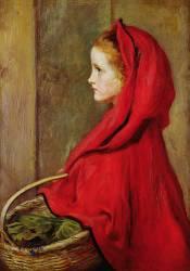 Le Petit Chaperon Rouge (John Everett Millais) - Muzeo.com