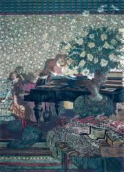 Le piano (Edouard Vuillard) - Muzeo.com