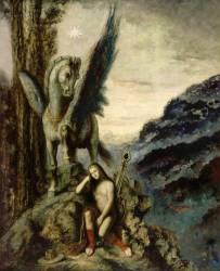 Le Poète voyageur (Moreau Gustave) - Muzeo.com