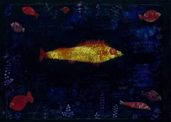 Le poisson rouge (Klee Paul) - Muzeo.com