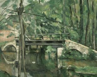 Le Pont de Maincy, près de Melun (Paul Cézanne) - Muzeo.com