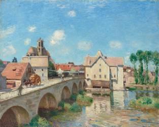 Le Pont de Moret (Alfred Sisley) - Muzeo.com