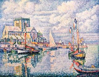 Le port de Barfleur (Paul Signac) - Muzeo.com
