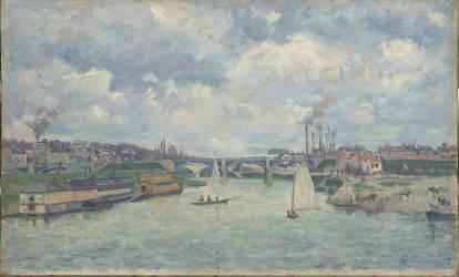 Le port de Charenton (Guillaumin Armand) - Muzeo.com