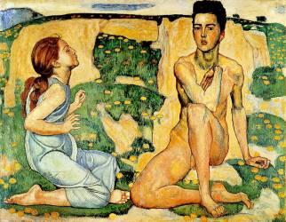 Le Printemps (Ferdinand Hodler) - Muzeo.com