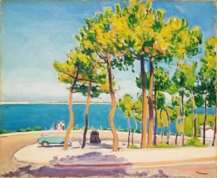 Le Pyla, Rond-point (Albert Marquet) - Muzeo.com