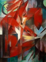 Le Renard (Franz Marc) - Muzeo.com