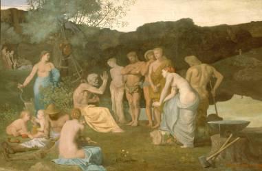 Le repos (Pierre Puvis de Chavannes) - Muzeo.com