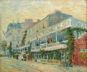 Le restaurant de la Sirène à Asnières (Van Gogh Vincent) - Muzeo.com