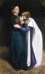 Le Retour de la Colombe à l'Arche de Noé (John Everett Millais) - Muzeo.com