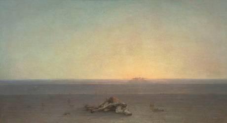 Le Sahara, Autre titre : Le désert (Gustave Guillaumet) - Muzeo.com