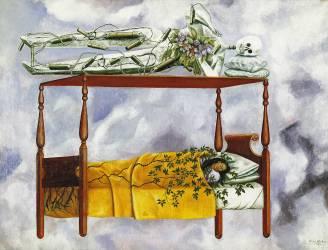 Le Sommeil (Frida Kahlo) - Muzeo.com