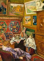 Le thé dans l'atelier (De Monfreid George-Daniel) - Muzeo.com
