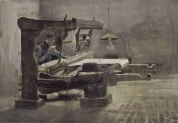 Le Tisserand (Van Gogh Vincent) - Muzeo.com