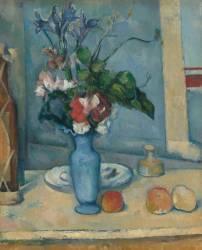 Le Vase bleu (Paul Cézanne) - Muzeo.com