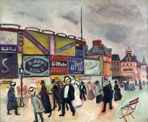 Les Affiches à Trouville (Raoul Dufy) - Muzeo.com