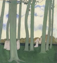 Les arbres verts ou les Hêtres de Kerduel (Marthe Denis) - Muzeo.com