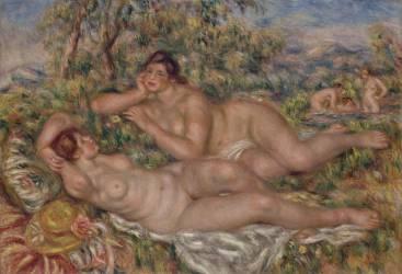 Les baigneuses (Renoir Auguste) - Muzeo.com