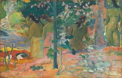 Les baigneuses (Paul Gauguin) - Muzeo.com