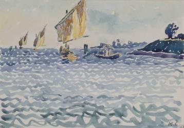 Les Barques (Cross Henri-Edmond) - Muzeo.com
