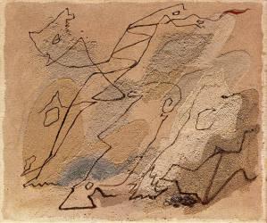 Les Chevaux morts (André Masson) - Muzeo.com