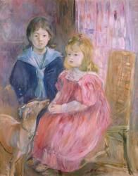 Les enfants de Gabriel Thomas (Berthe Morisot) - Muzeo.com