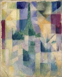 Les Fenêtres Simultannées (Robert Delaunay) - Muzeo.com