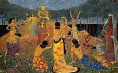 Les filles de Pelichtim (Philistins en hébreu) (Paul Serusier) - Muzeo.com