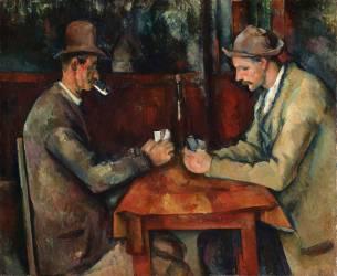Les joueurs de cartes (Paul Cézanne) - Muzeo.com