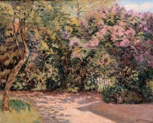 Les lilas (le jardin de l'artiste à saint-Val près de Malesherbes) (Guillaumin Armand) - Muzeo.com