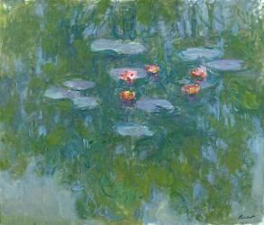 Les Nymphéas (Monet Claude) - Muzeo.com