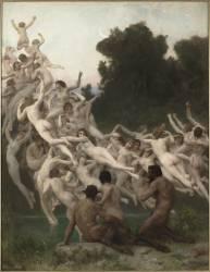Les Oréades (Bouguereau William Adolphe) - Muzeo.com