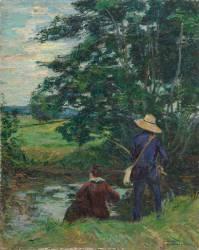 Les pêcheurs (Guillaumin Armand) - Muzeo.com