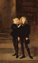 Les Princes Edouard et Richard dans la Tour (John Everett Millais) - Muzeo.com