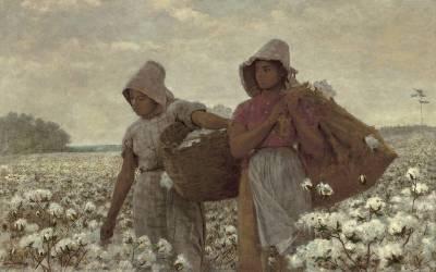 Les Ramasseuses de Coton (Winslow Homer) - Muzeo.com