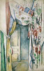 Les rideaux (Paul Cézanne) - Muzeo.com