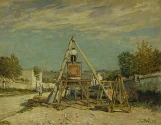 Les scieurs de long (Sisley Alfred) - Muzeo.com