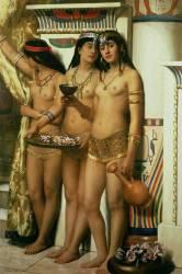 Les servantes du Pharaon (John Collier) - Muzeo.com