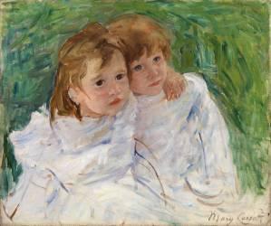 Les soeurs (Mary Cassatt) - Muzeo.com
