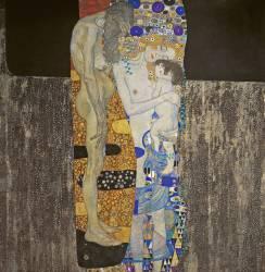 Les Trois Âges de la femme (Gustav Klimt) - Muzeo.com