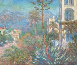 Les Villas à Bordighera (Monet Claude) - Muzeo.com