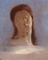 Les yeux clos (Redon Odilon) - Muzeo.com