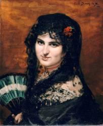 L'Espagnole (Carolus-Duran) - Muzeo.com