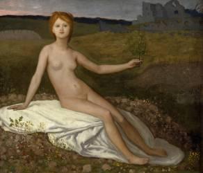 L'Espérance (Pierre Puvis de Chavannes) - Muzeo.com