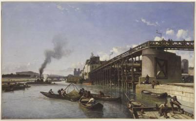 L'Estacade (Jongkind Johan Barthold) - Muzeo.com
