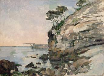 L'Estaque, effet du soir (Paul Cézanne) - Muzeo.com