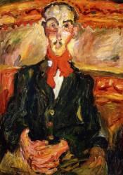 L'homme au foulard rouge (Chaïm Soutine) - Muzeo.com
