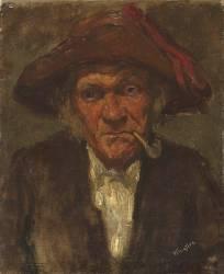 L'homme à la pipe (James Abbott McNeill Whistler) - Muzeo.com