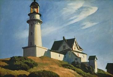 Lighthouse at Two Lights (Edward Hopper) - Muzeo.com
