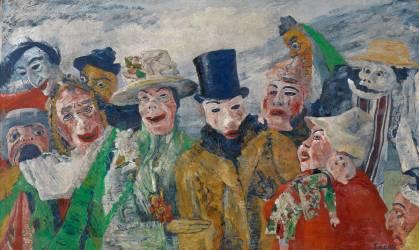 L'intrigue (James Ensor) - Muzeo.com